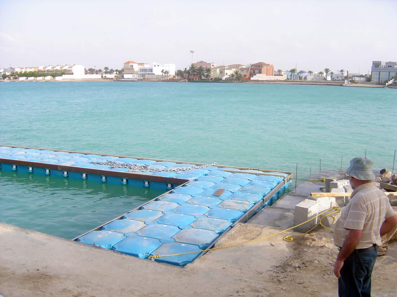 Airfloat Modular Pontoon System in use - Saudi Arabia - 12