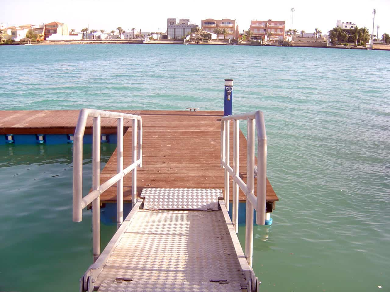 Airfloat Modular Pontoon System in use - Saudi Arabia - 3