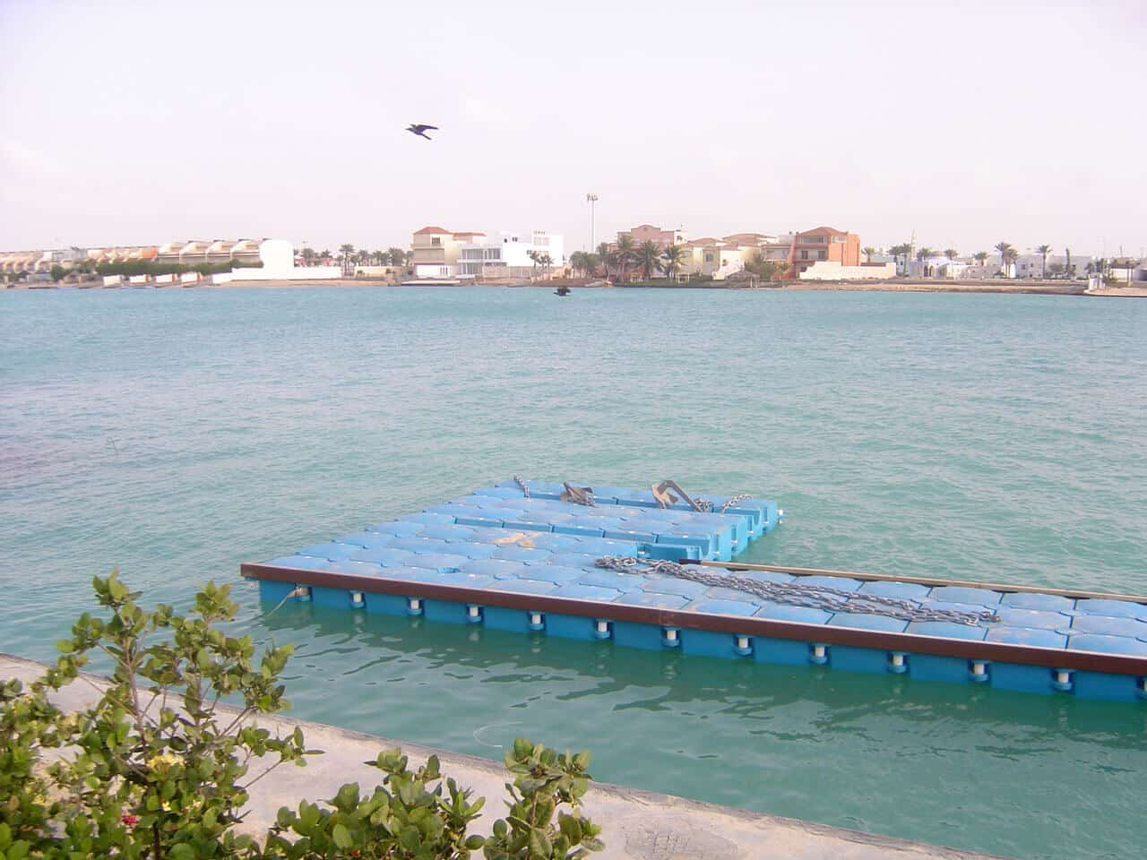 Airfloat Modular Pontoon System in use - Saudi Arabia - 1