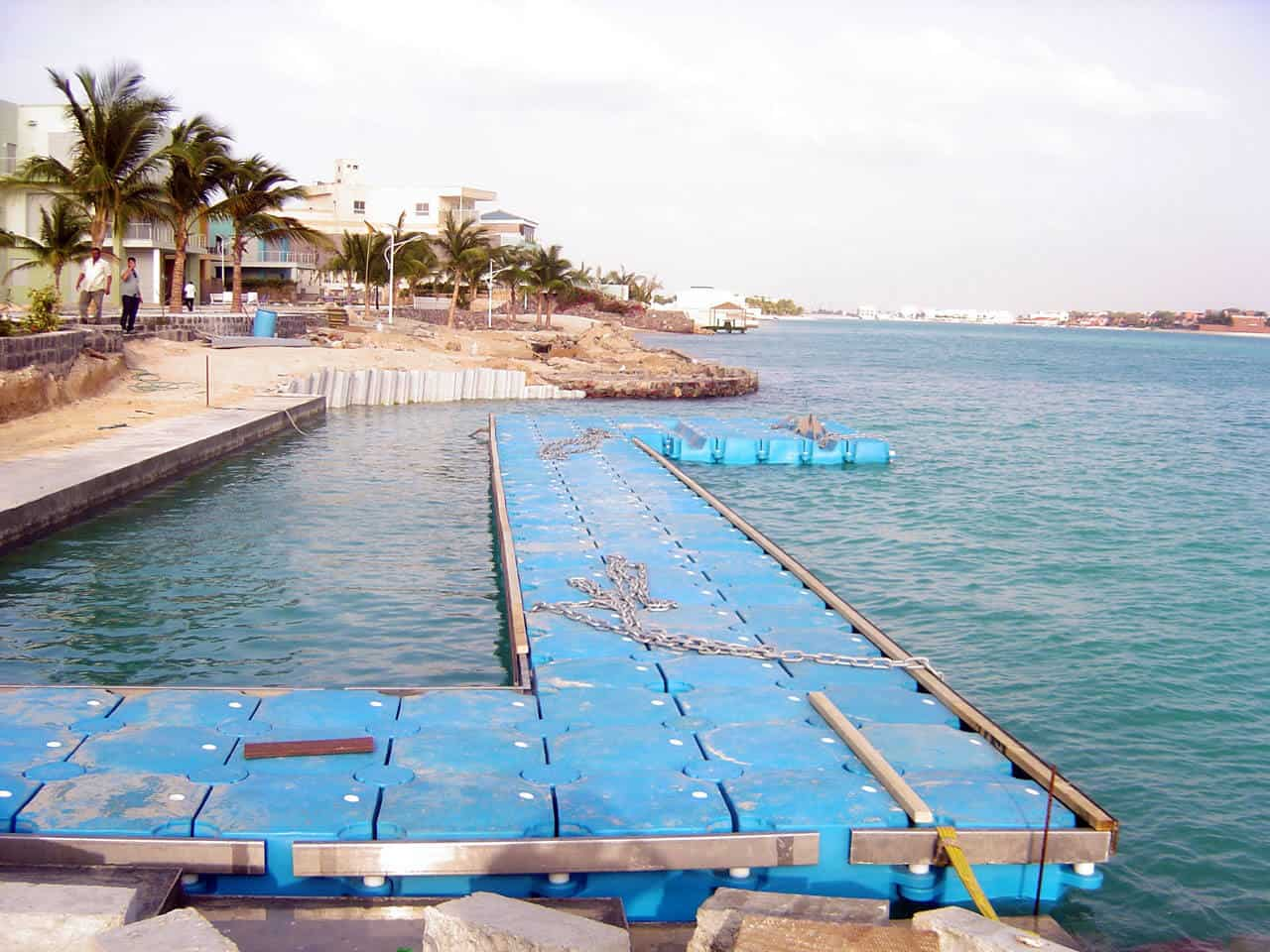 Airfloat Modular Pontoon System in use - Saudi Arabia - 11