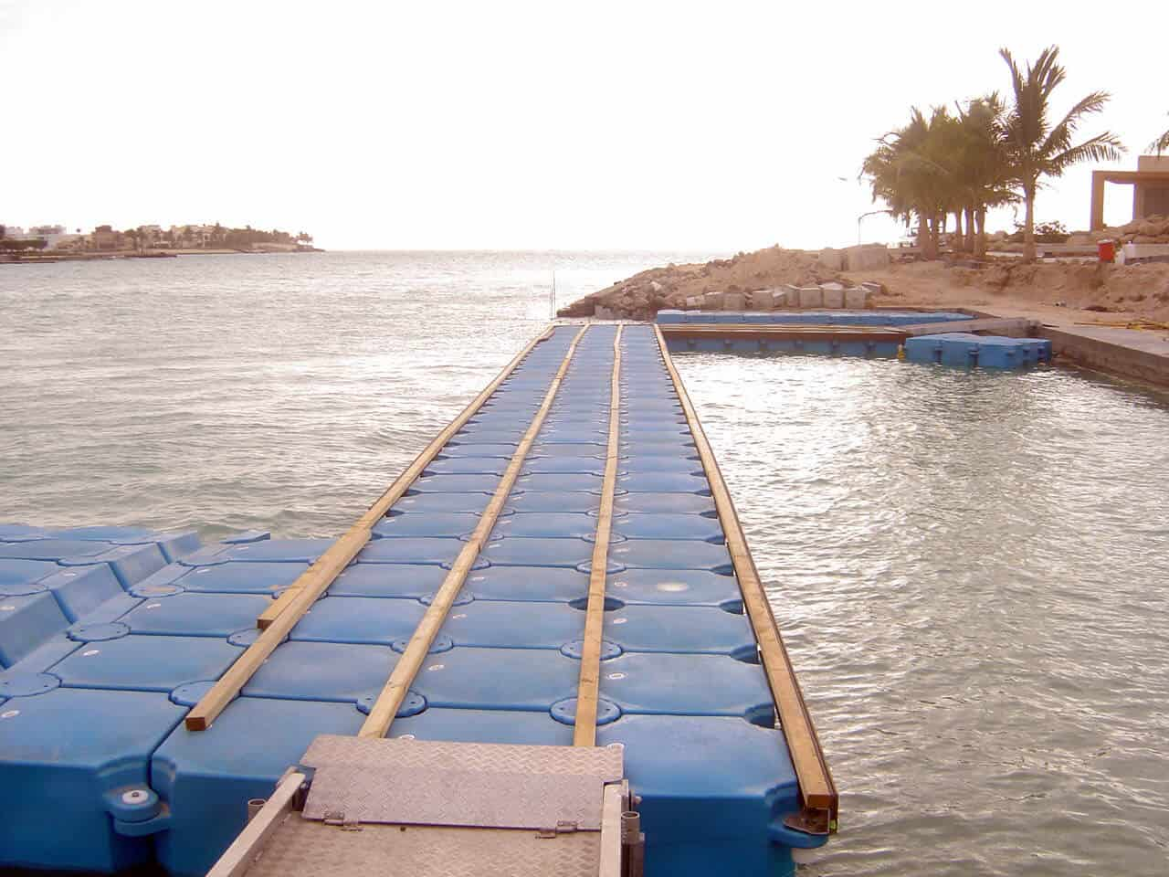 Airfloat Modular Pontoon System in use - Saudi Arabia - 8