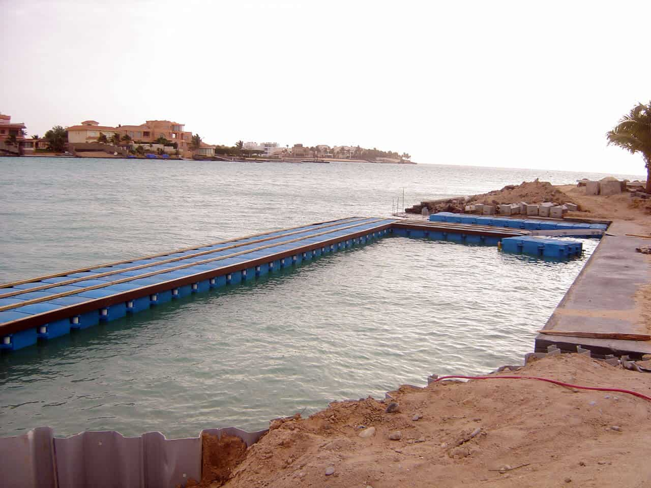 Airfloat Modular Pontoon System in use - Saudi Arabia - 7